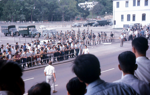 Hong Kong - Communists and Police