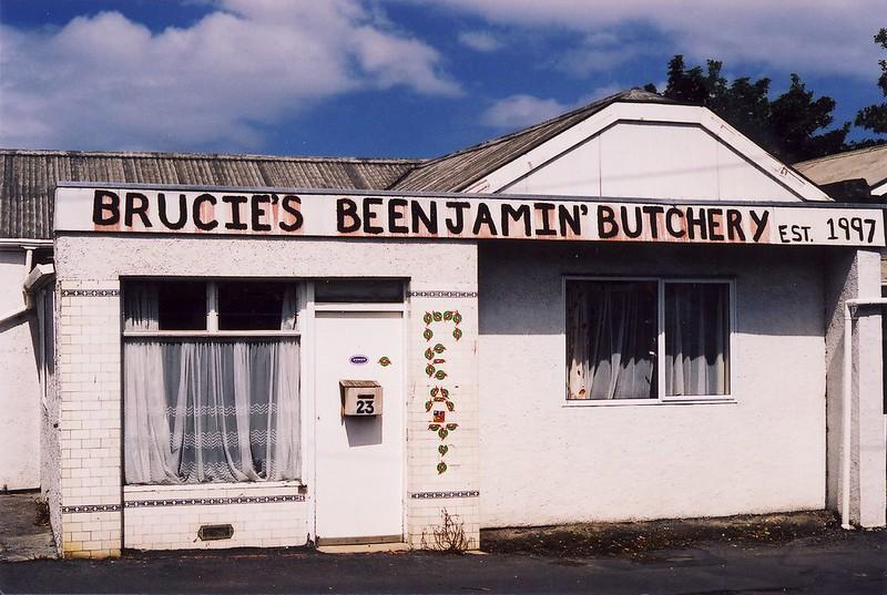 Brucie's Beenjamin' Butchery