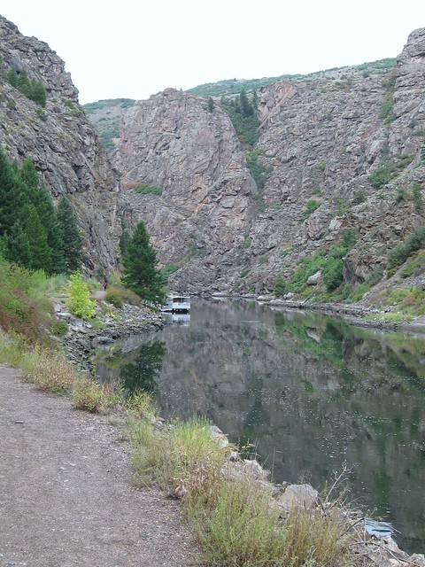 Along the Gunnison River