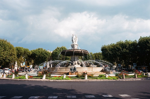 Aix en Provence - Cours Mirabeau   by MoritzP
