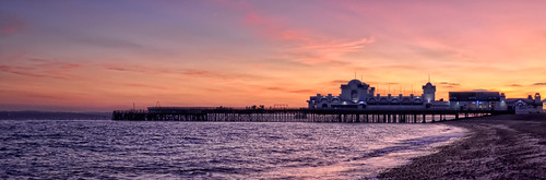 Southsea Pier Sunset HDR | by Hexagoneye Photography