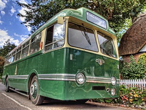 bus geotagged winchester hdr leyland crawley tigercub evolt620artisan geo:lat=51109732 geo:lon=1386492