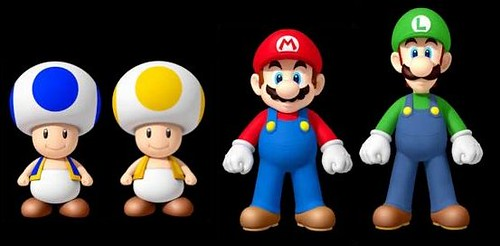 New Super Mario Bros Wii Playable Characters The Playable Flickr