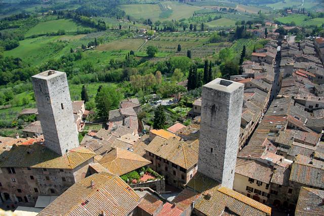 Paisaje de San Gimignano V