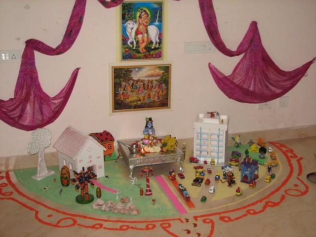 Janmashtami 08 Decorations Manish Srivastava Flickr