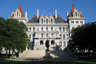NY - Albany: New York State Capitol | by wallyg