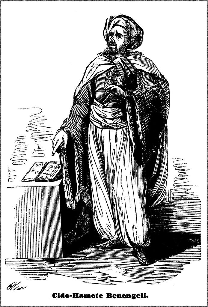 Sancho Panza's Cide Hamete Benengeli