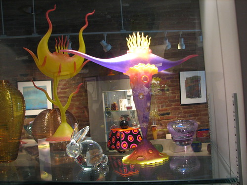 art glass in Saratoga Springs   by Kathryn Cramer