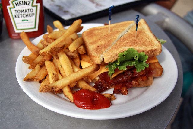 BLT and Fries