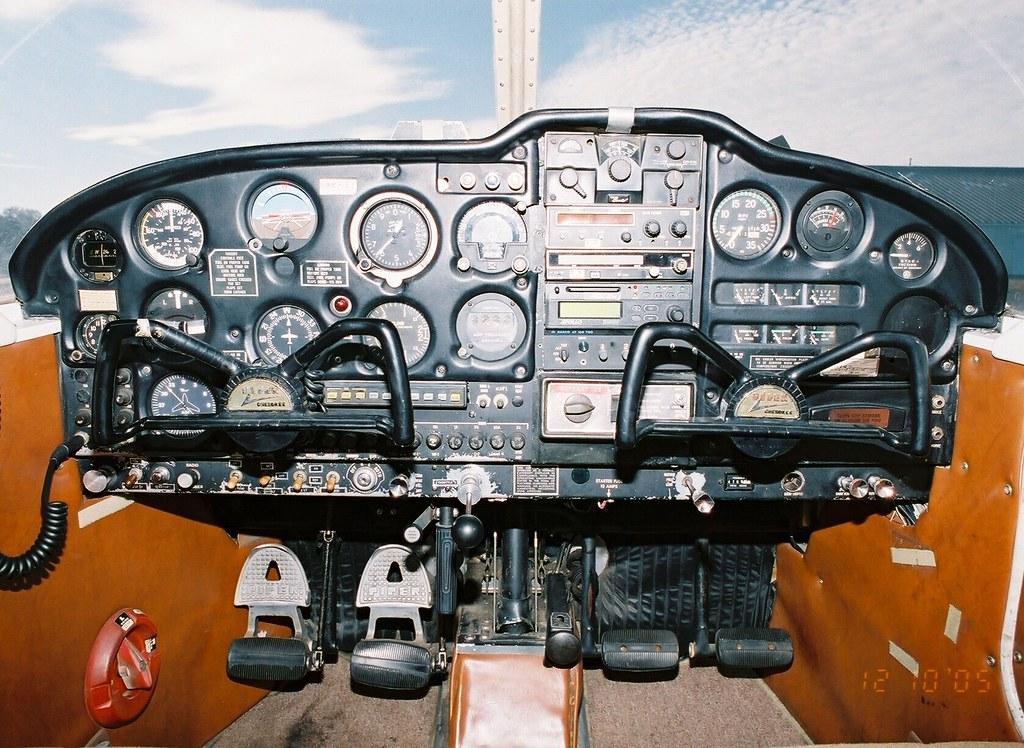 4  1966 Piper Cherokee 180 (PA-28-180) N9508J Instrument p