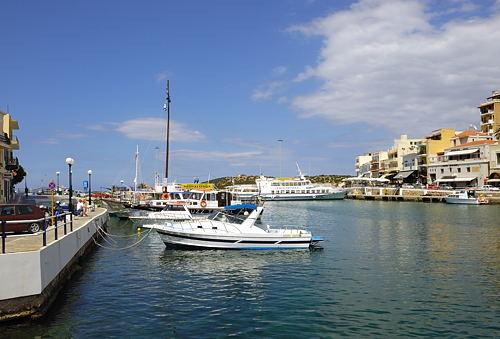 Agios Nikolaos - am Hafen