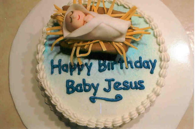 Happy Birthday Jesus cake | December 2008-This was a spur-of… | Flickr