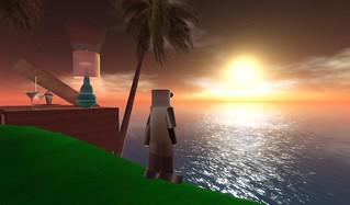 Sunset on Here Island   VISIT HERE ISLAND \u0026gt; slurl.com\/second\u2026   Flickr