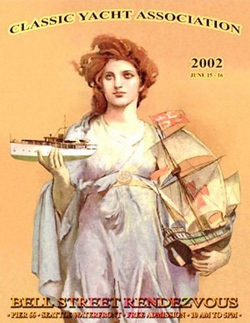 2002 Classic Yacht Association Poster   oldsailro   Flickr