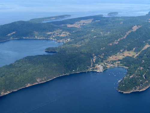 Mayne Island and Village Bay | by Ruth and Dave