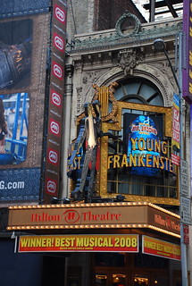Young Frankenstein at the Hilton Theatre   by afagen