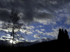 Dark Clouds Hanging In The Sky V