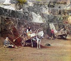 Work at the Bakalskiy mine, 1910 | by Sergey Prokudin-Gorsky
