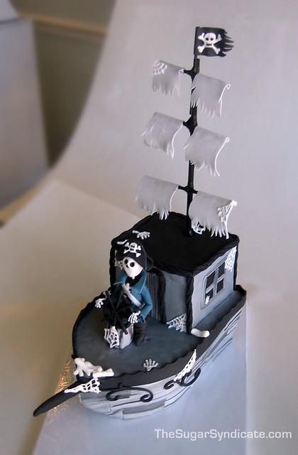Pirate Ghost Ship Cake