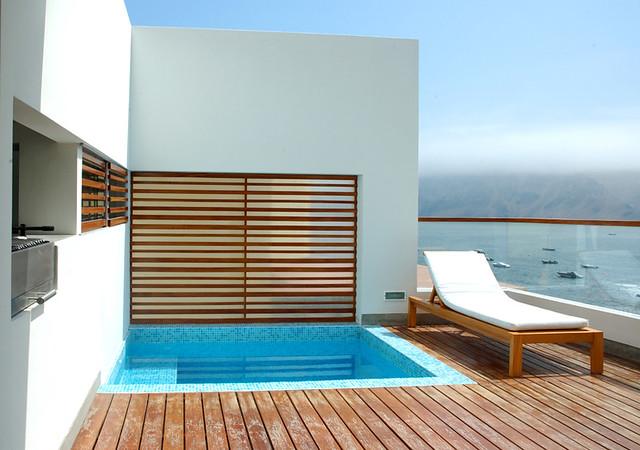 La Quipa 002 Terraza Casa De Playa En La Quipa Arquitect