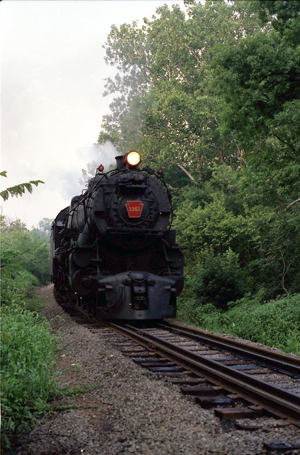 PRR K4s Pacific 1361 at York PA
