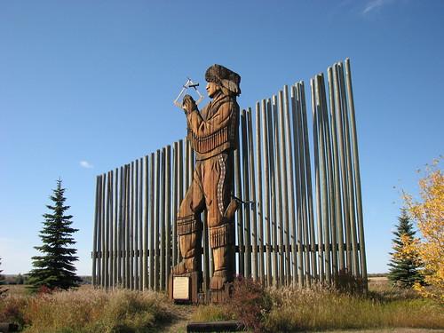 Peter Fiddler Statue