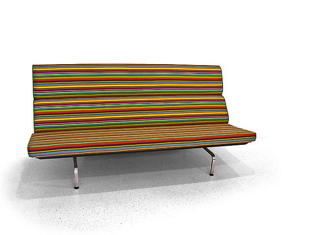 Eames Compact Sofa   Designed By Charles And Ray Eames The V ...