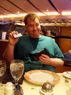 Mike and His Soda Card (Carnival Splendor) | by Miss Shari