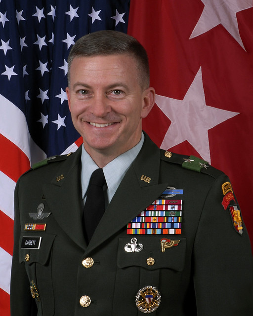 Major General William B. Garrett III - Commander, Southern European Task Force - U.S. Army Africa