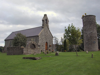 Inniskeen Church and round tower, Inniskeen Co. Monaghan