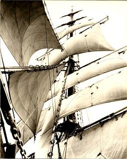 Regina Maris under sail