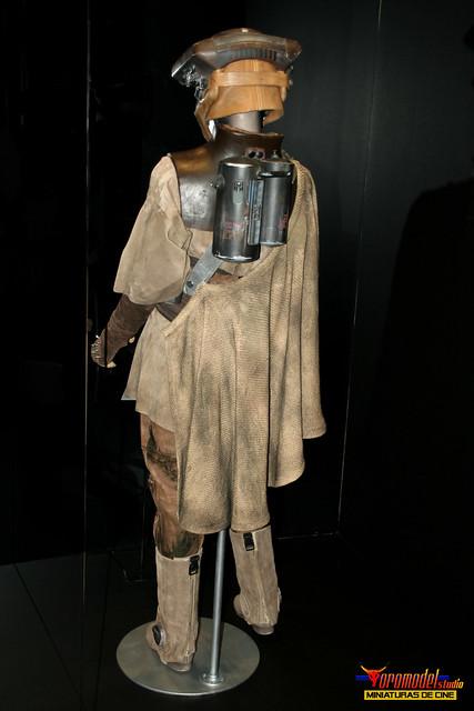 Star Wars The Exhibition Madrid - Princesa Leia Vestida de Boushh - Princess Leia As Boushh (2)