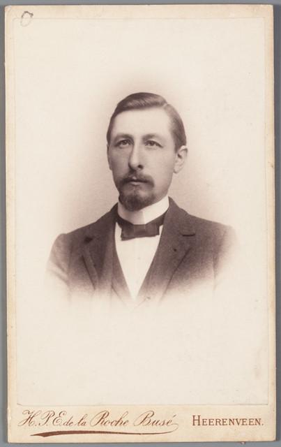Pieter Jelles Troelstra 1901 Fotograaf Hpe De La Roche