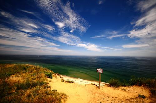blue friends sky cliff usa green water sign nikon view capecod massachusetts horizon dune wide truro lanscape d300 potofgold sigma1020mm polarizingfilter sooc goldstaraward