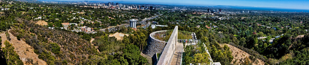 View from The Getty museum by Brittan McGinnis