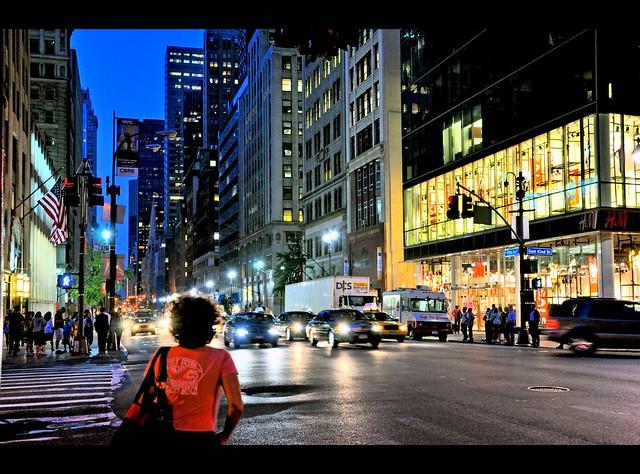 Stranger in NYC