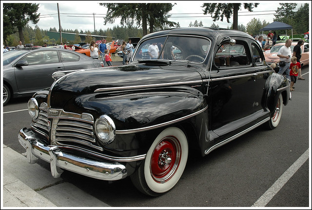 1942 Plymouth Special Deluxe Coupe