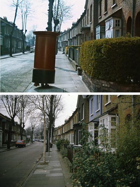 Walking letterbox 1965-1988