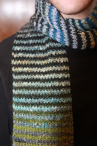 Ian wearing Noro striped scarf-1 | by ianandval