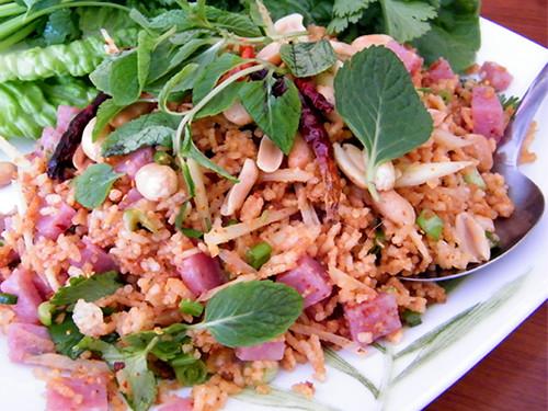Crispy Rice Salad at Sri Siam, MyLastBite.com | by MyLastBite