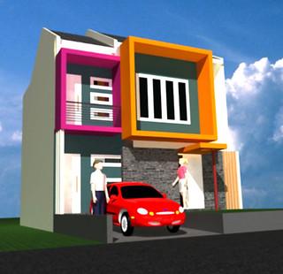 desain rumah model minimalis 2 lantai | desain rumah