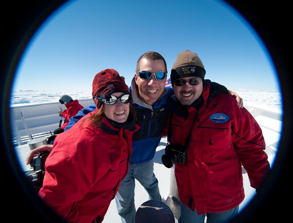 Antarctic Circle Crew