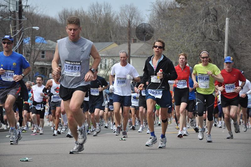 Boston Marathon Bib 10881