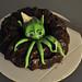 Cthulhu birthday cake by thinkgeekmonkeys