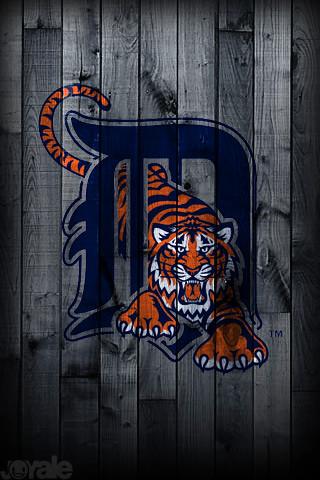 Detroit Tigers I Phone Wallpaper A Unique Mlb Pro Team 480 Flickr