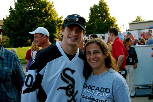 Me with Jack Skille | by Julie Rubes