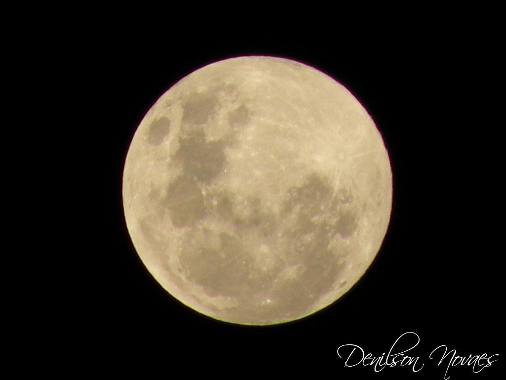 Lua Cheia Recebi Um Beijo Da Lua Que Brilhava La No Alto Flickr