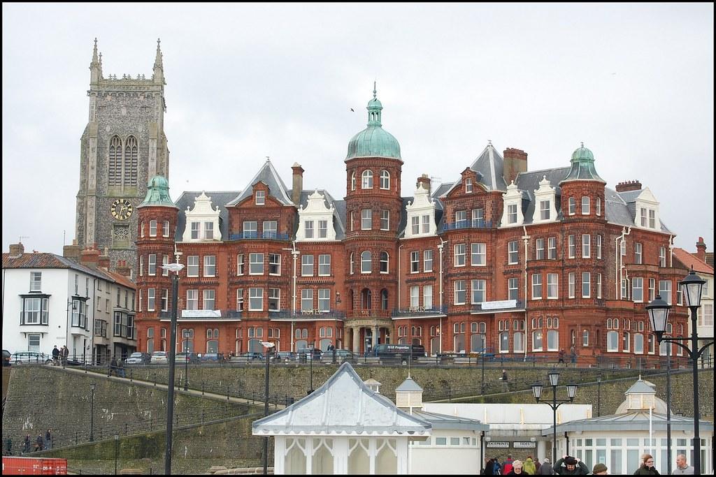 Hotel de Paris, Cromer, Norfolk | Oscar Wilde stayed here an