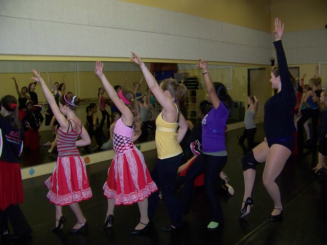Ann Arbor Dance Classics Rehearsal for 2009 Benefit Show