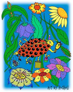 Busy Ladybug by RaShell